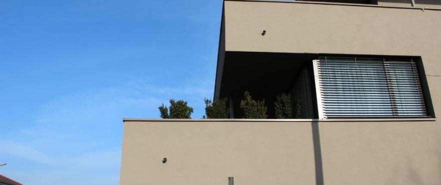 Schöner Bauen Südansicht Terrassen am Park